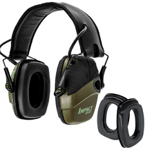Electronic Shooting Earmuffs Anti-noise Tactical Hunting Headset Hearing Protection Headphones + Sightlines Sponge Ear pads