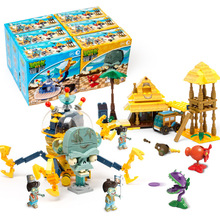 6 In 1 Marvel Superhero Series Plants Vs Zombies Star Wars Mini Mutants Action Figures Toys For Children Gifts