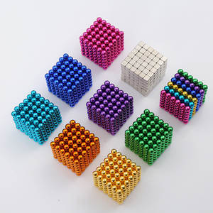 Magcube-Blocks Balling Puzzle Magnets Neo-Cube Bucky Metal New 5mm with Toy 216pcs/Set
