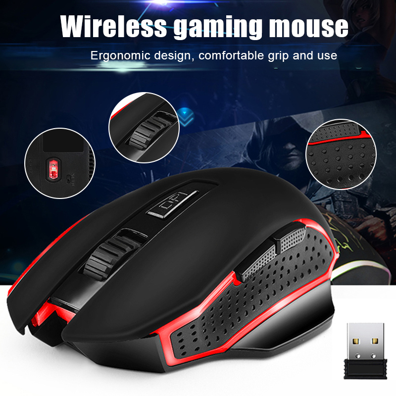 2019 Wholesale G821 Wireless Optical Gaming Mouse 2.4G Wireless Portable Ergonomic Mouse S288