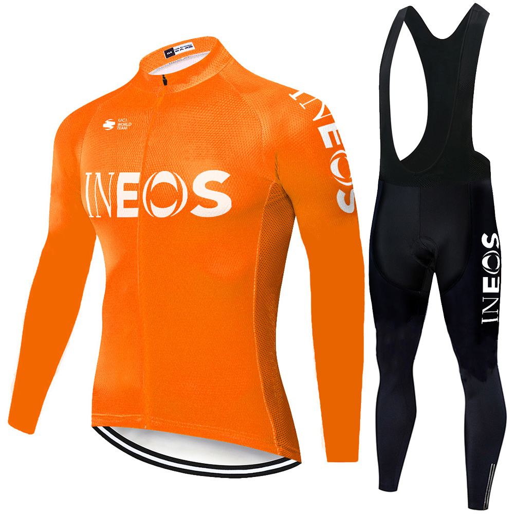 Cycling Jersey 2020 Pro Team INEOS Summer Spring Cycling Bib Pants Men Breathable Kit Ciclismo Outdoor Maillot Tenue Velo Homme