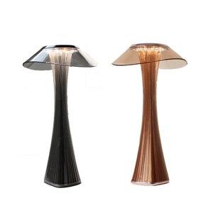 Image 5 - Светодиодная настольная лампа, удобный и мягкий светильник для спальни/офиса, Настольный светильник со встроенной USB зарядкой и аккумулятором, 3 режима