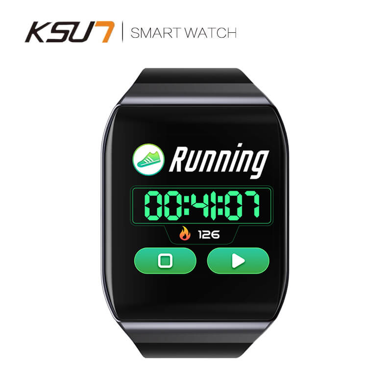 KSUN KSS901 IP68 Smart watch With Heart rate ECG and Blood Pressure Monitor for Fitness Tracking 4