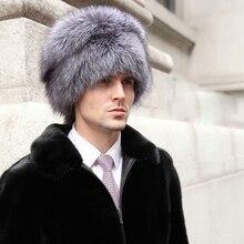 Мужская шапка из натурального меха енота, шапка из натурального меха лисы, модная теплая шапка с ушками, натуральный мех, шапки-бомберы, зимние шапки с двумя косами