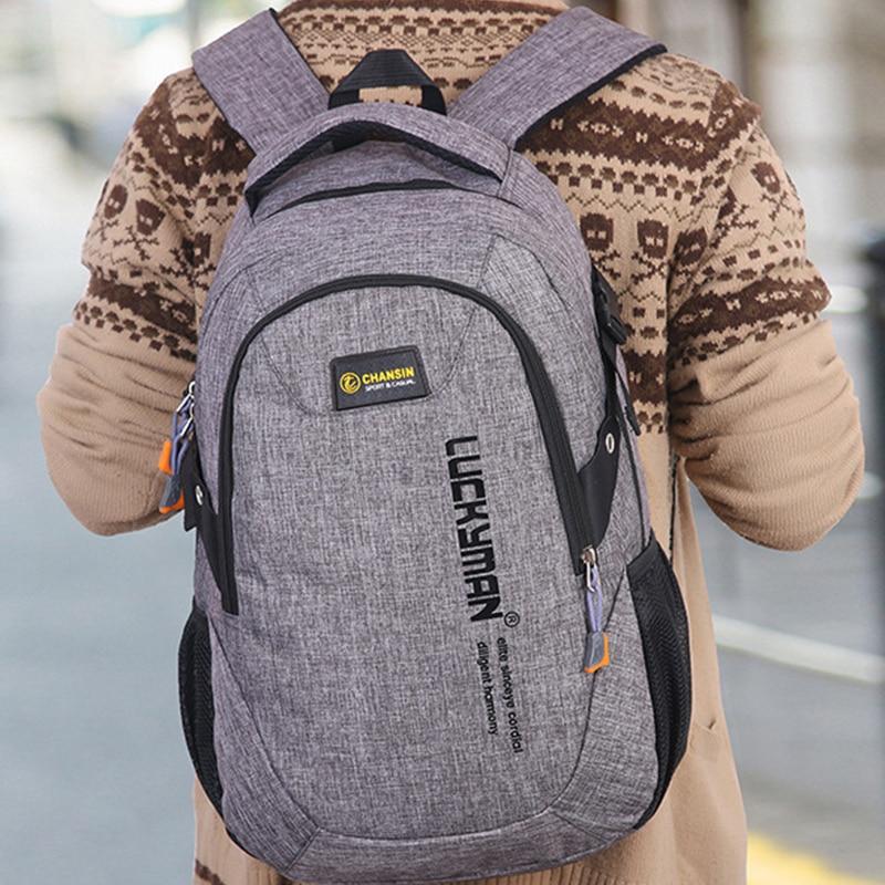 Canvas School Bags Backpack Kids Orthopedic Men Backpacks 1