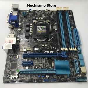 Image 2 - ASUS B75M PLUS Motherboard for Intel LGA 1155 DDR3 Intel B75 Original Boards 32GB USB2.0 USB3.0 Mainboard Desktop Used Tested