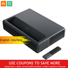 Chính Hãng Xiaomi Mijia Chiếu Laser Tivi 4K Rạp Hát Tại Nhà 200 Inch Wifi RAM 2G 16G Giao Diện Tiếng Anh hỗ Trợ HDR DOLBY DTS