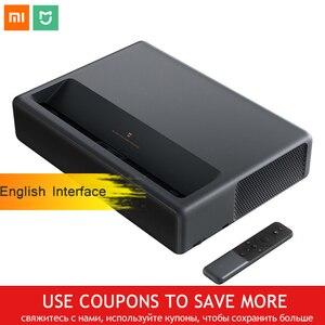 Image 1 - מקורי Xiaomi Mijia לייזר הקרנת הטלוויזיה 4K קולנוע ביתי 200 אינץ Wifi 2G RAM 16G אנגלית ממשק תמיכת HDR DOLBY DTS