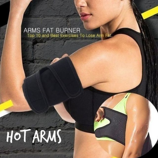 2pcs Slimming Sauna Belt Wraps Leg Arm Body Shaper Sweat Thigh Calories off Warmer Slender Weight Loss Anti cellulite Belt 1