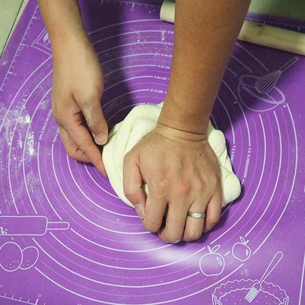 Almohadillas de silicona para hornear tapete especial almohadillas de amasar con almohadilla de gran escala especial * 60 para hornear tamaño 45 R8N2