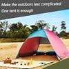 Schip Uit Ru Strand Tent Ultralight Opvouwbare Tent Pop Up Automatische Open Tent Familie Toeristische Vis Camping Anti Uv Volledig Zon schaduw