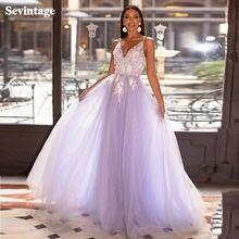 Sevintage лавандовое пляжное платье для выпускного корсет с