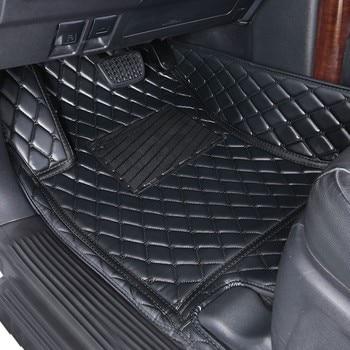 Car Floor Mats 3D For Mazda 6 2007-2012 PU Interior car accessories 4Season car Mats set made in irkutsk individual order