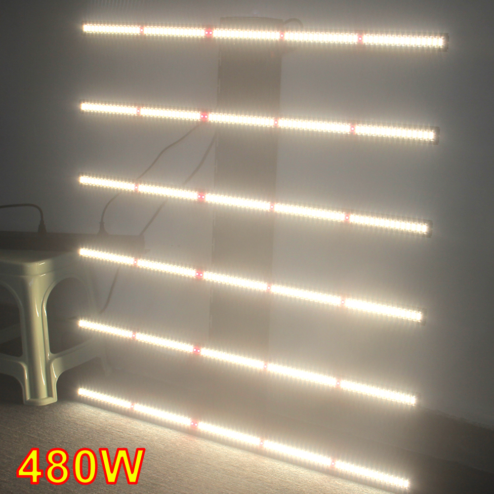 LM301H Osram 660nm 730nm 480w Led Grow Light Bar UV Full Spectrum Grow Lamp Horticulture
