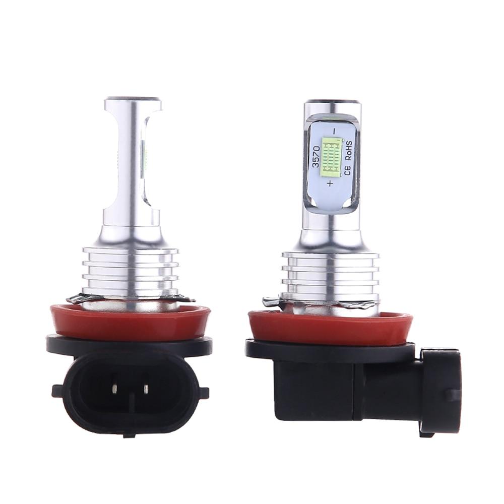 Nebel lampe Nebel Lichter auto Led-nebelscheinwerfer Lampen Conversion Kit High-helle dekodierung H8/H9/H11 9006 /HB4 Weiß gelb blau