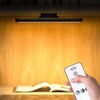Lámpara de escritorio Lámpara de Mesa táctil regulable para estudio debajo del armario, luz nocturna Led, lámpara de pared para cabecera, tira magnética, barra de luz USB