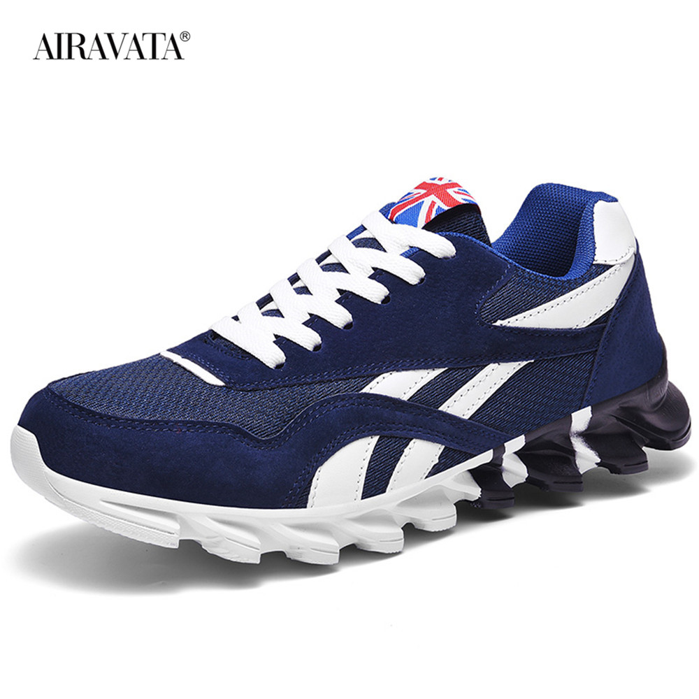 Blue-Couples Sneakers Casual Breathable Comfortable Running Sport Shoes