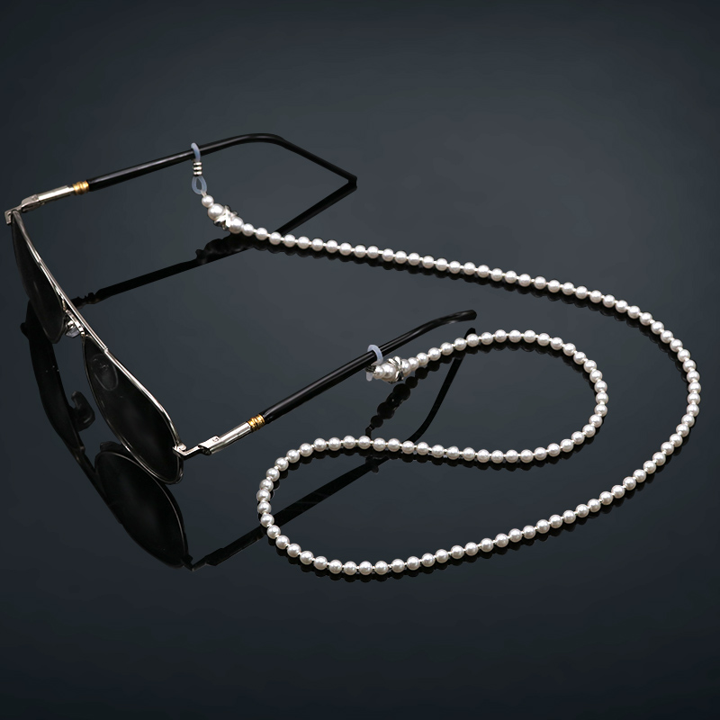 COLOUR_MAX Eyeglasses Chain Strap Cord Premium Quality Beaded Glasses Necklace Holder Eyewear Retainer Lanyard