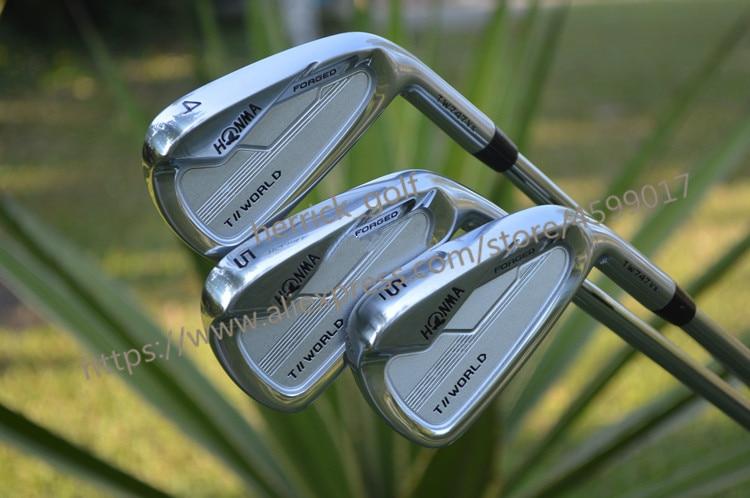2020 NEUE Golf Club HONMA TW 747VX Golf Club Set 4-10 Eisen Set Stahl und Graphit Freies Wahl HONMA Eisen Gesetztes Freies Verschiffen