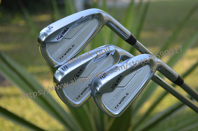 2020 NEW Golf Club HONMA TW 747VX Golf Club Set 4-10 Iron Set Steel And Graphite Free Choice HONMA Irons Set Free Shipping