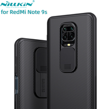 for XiaoMi RedMi Note 9s Note 9 Pro Max Phone Case,NILLKIN Camera Protection Slide Protect Cover Lens Protection Case
