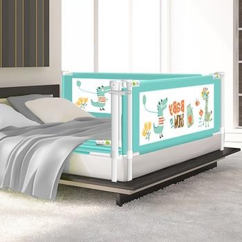Защитные ворота для детской кровати, Защитные барьеры для кроватки, ограждения для детей, Детский манеж