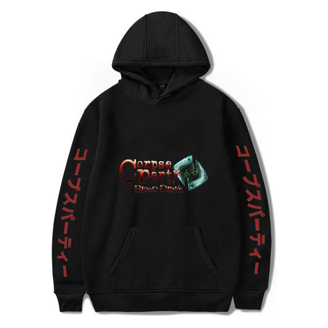 CORPSE PARTY BLOOD DRIVE THEMED HOODIE (28 VARIAN)