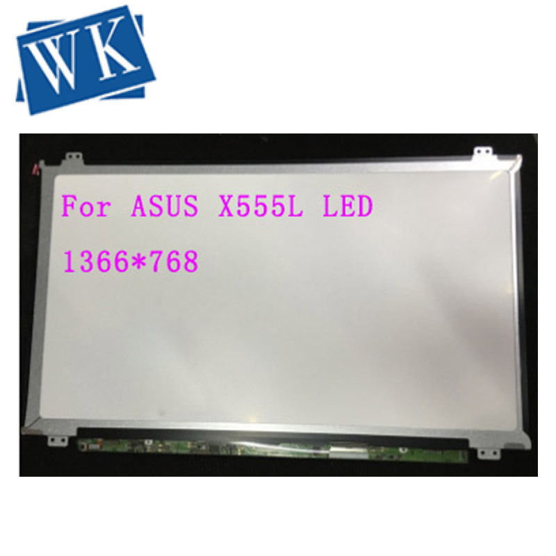 """15.6"""" Slim Laptop LCD Screen For ASUS X555L SERIES LED LCD Display Schermo Screen 40 pin 1366*768"""