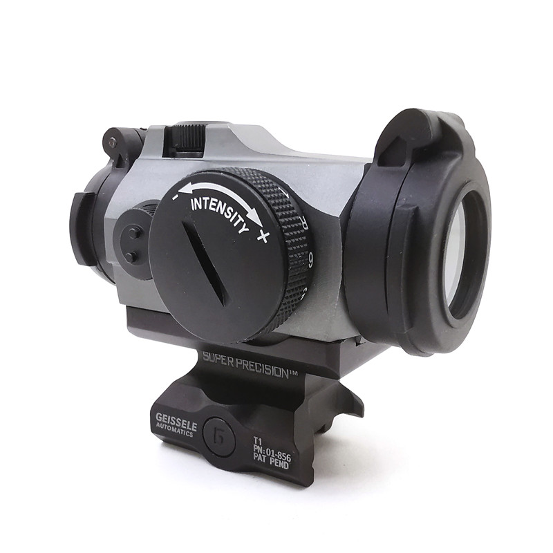 SOTAC-GEAR Tactical Rifescope Sight 2MOA T2 Sight Illuminated Sniper Red Green Dot Sight With Quick Release Red Dot Scope 3