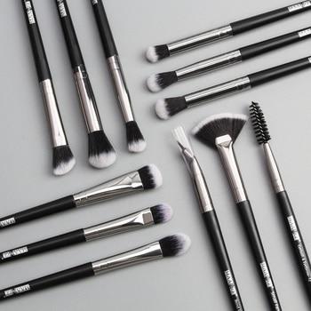 Makeup brushes set professional 12 pcs/lot Make up brushes Eye Shadow Blending Eyeliner Eyelash Foundation Brush For Makeup Tool