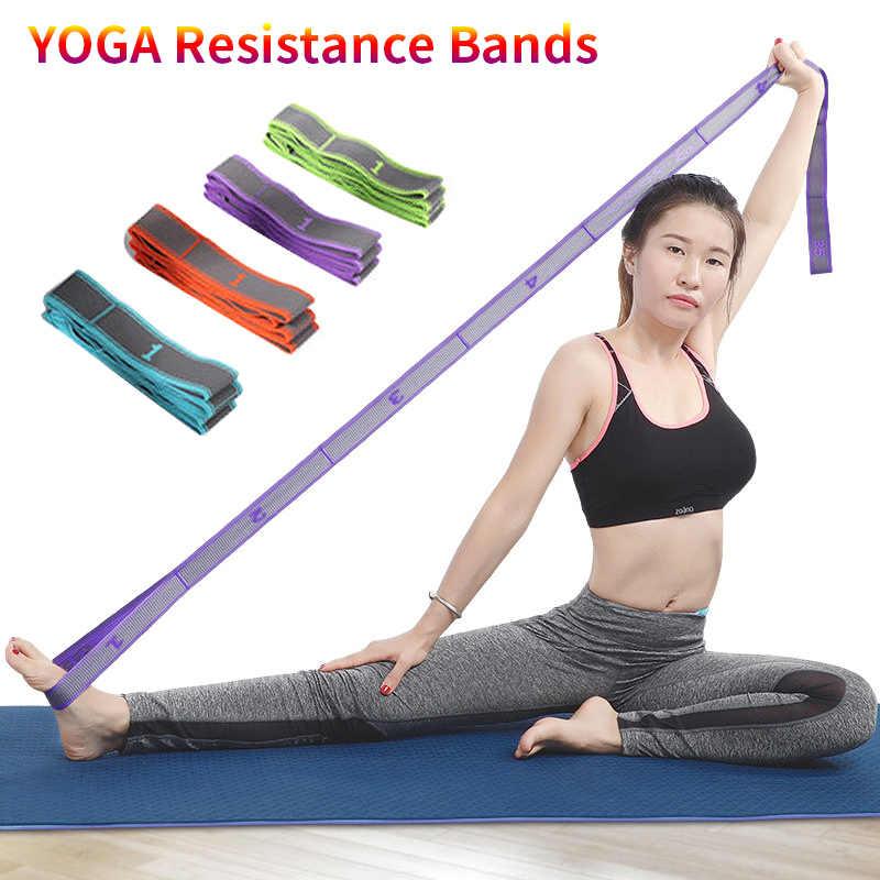 1pc Outdoor Training Band Exercise Fitness Yoga Pilates Gym Latin