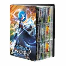 432 pièces Cartes Pokémon Livre D'album Dessin Animé Carte VMAX GX Jeu Porte-Carte Liant Collection Chargé Liste Protection Dossier Enfants Cadeau