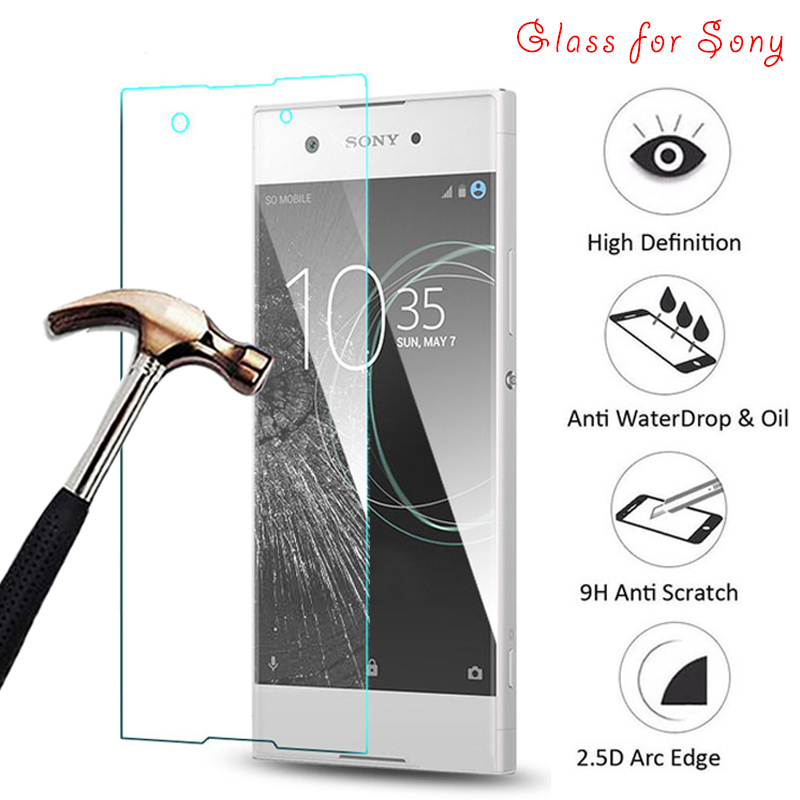 Toughed Glass Tempered Glass For Sony Xperia Z1 Z3 Plus Z4 Z5 Compact 9H HD Screen Protector Front Film For Sony Z5 Premium