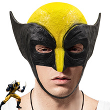 Wolverine Latex Face Mask Cosplay Costumes Men Halloween Masquerade Fancy Party Props superhero Fashion Masks Hood Masque