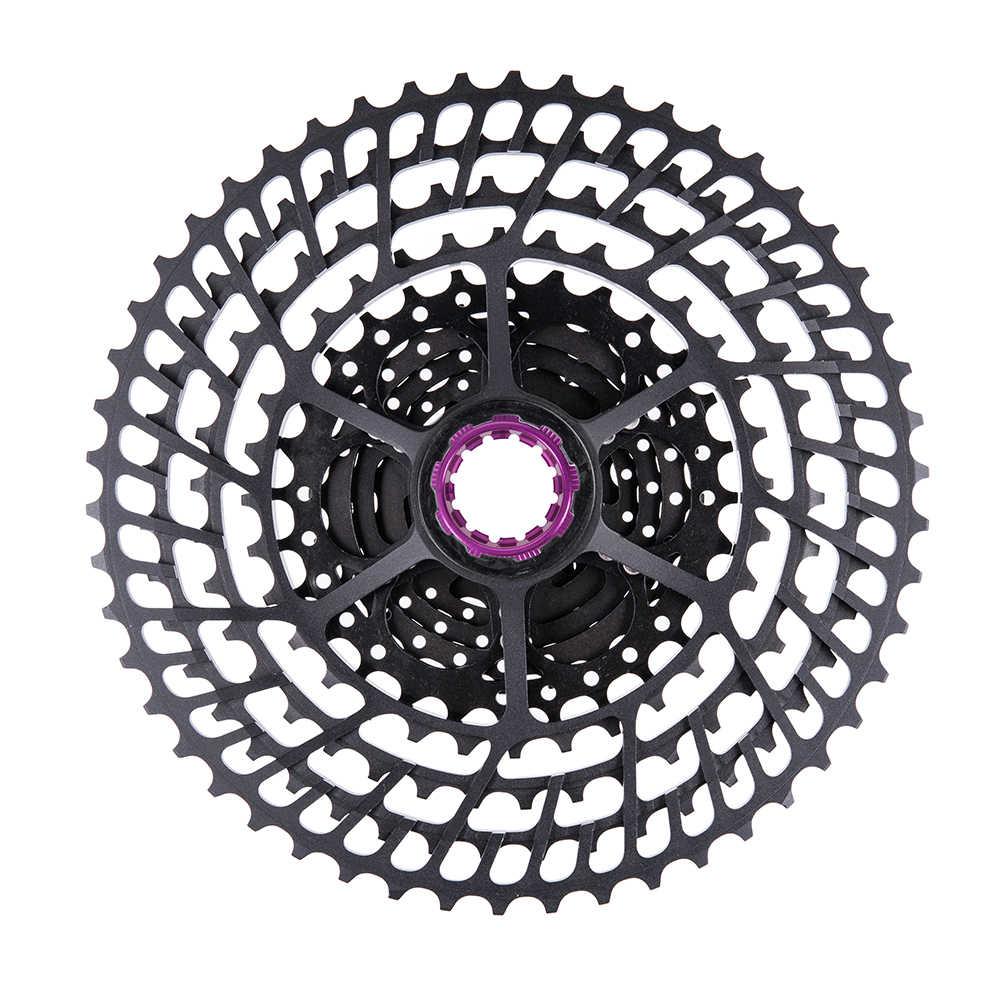 ZTTO MTB 11 سرعة SLR 11-50T دراجة كاسيت 11s خفيفة CNC الملونة Freewheel دراجة هوائية جبلية ضرس HG محور XX1 gx m9000