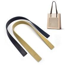 Sac à main en cuir pour femmes, 2 pièces, bandoulière, poignée, ceinture de remplacement, bricolage, couleur unie, accessoires simples