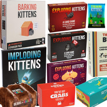 Adult Board Games NSFW Edition Kitten Original Edition Family Party Strategy Explode Fun Cards Game Child Toy Exploding Kittens