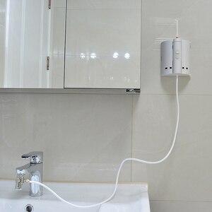 Image 5 - 10 dicas torneira irrigador oral água portátil dental flosser boca de lavagem água picareta jato irrigador dental para a limpeza dos dentes