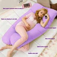 Чехол-подушка для сна для беременных и родителей, u-образный чехол для подушки