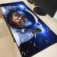 Mairuige  Cat Print Locking Edge Rubber Mousepad Computer Notebook Gaming Large Mouse Pad Gamer Mice Play Mats Free Shipping