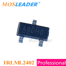 Mosleader IRLML2402 SOT23 1000 шт IRLML2402TR IRLML2402PBF IRLML2402TRPBF N Channel 20V сделано в Китае высокое качество