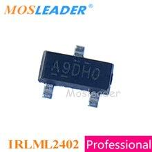 Mosleader IRLML2402 SOT23 1000PCS IRLML2402TR IRLML2402PBF IRLML2402TRPBF N Channel 20V Made in China High quality
