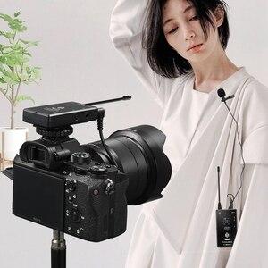 Image 5 - 20 ערוצים אלחוטי Lavalier מיקרופון מערכת עבור Canon Nikon Sony Panasonic DSLR iphone אנדרואיד smartphone