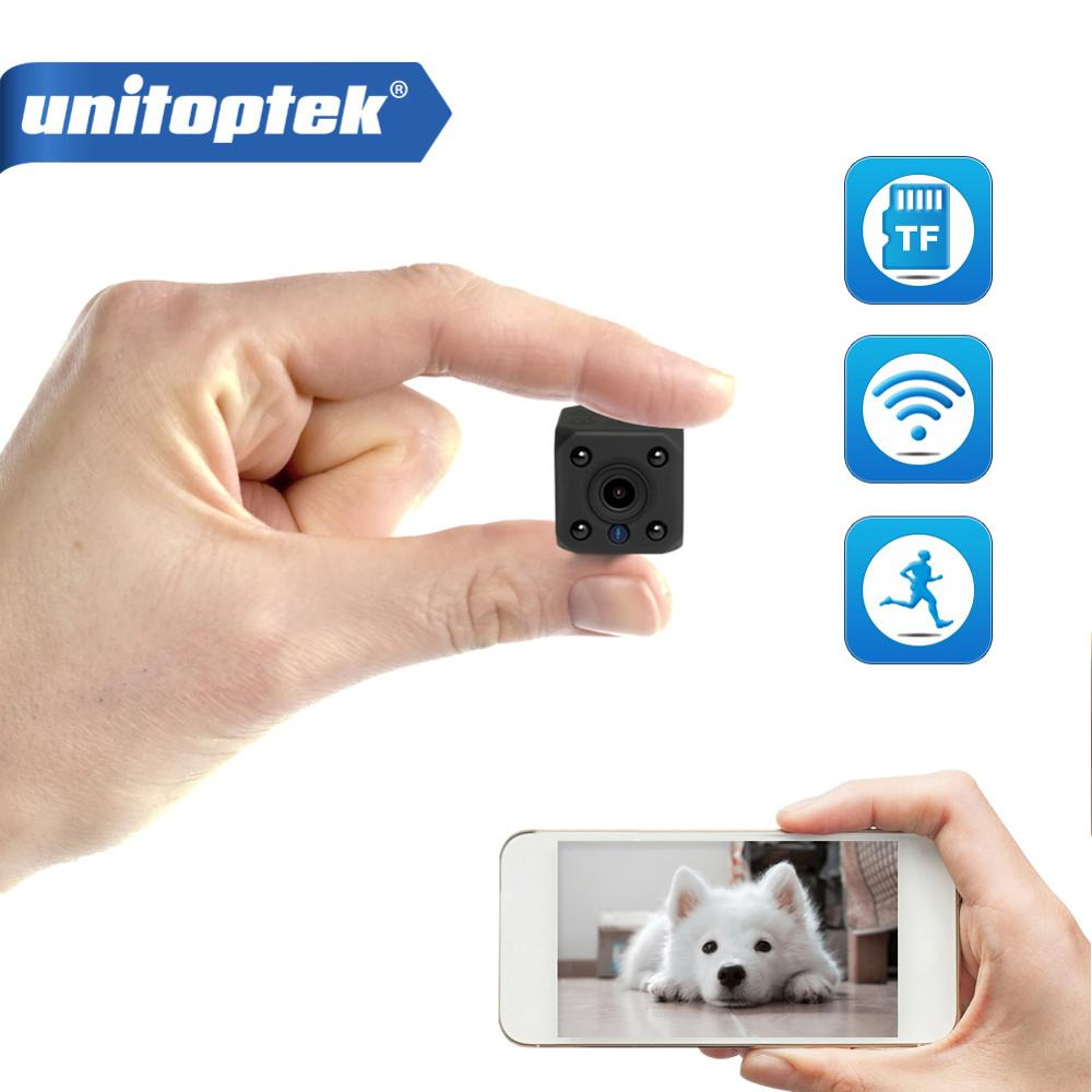 720P HD WIFI Wireless Mini IP Camera Night Vision Motion Detect Mini Camcorder Loop Video Recorder Built-in Battery Body Cam