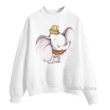 dumbo hoodies animal print hoodie sudadera mujer 2019 funny sweatshirt women clothes harajuku kawaii sweat femme