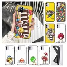 M & m chocolate casos de telefone para huawei companheiro 9 10 20 20x30 40 pro lite nova 7 5g