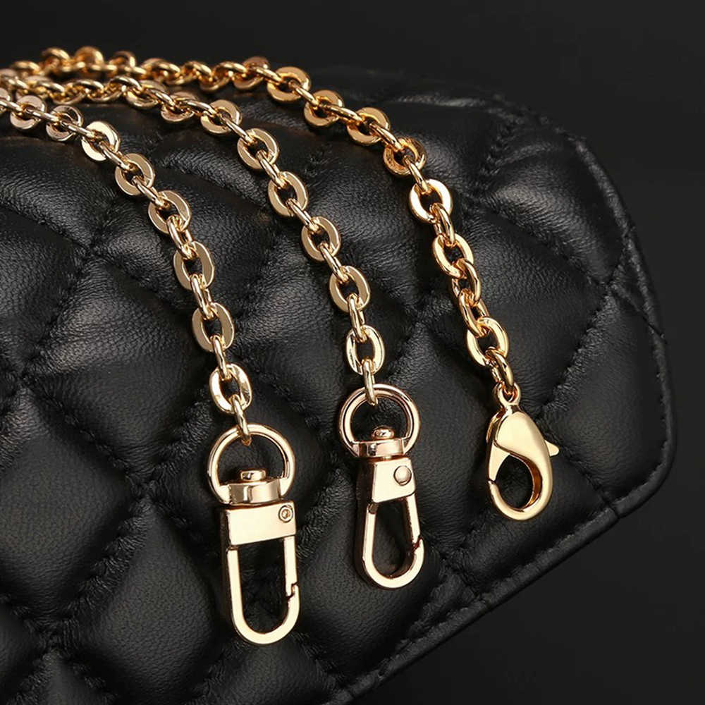 ESbear جديد أزياء المرأة حقيبة يد سلسلة حزام سوبر شيك مع 90/100/110/120/130 سنتيمتر طول حقيبة معدنية سلسلة حقيبة أحزمة الديكور