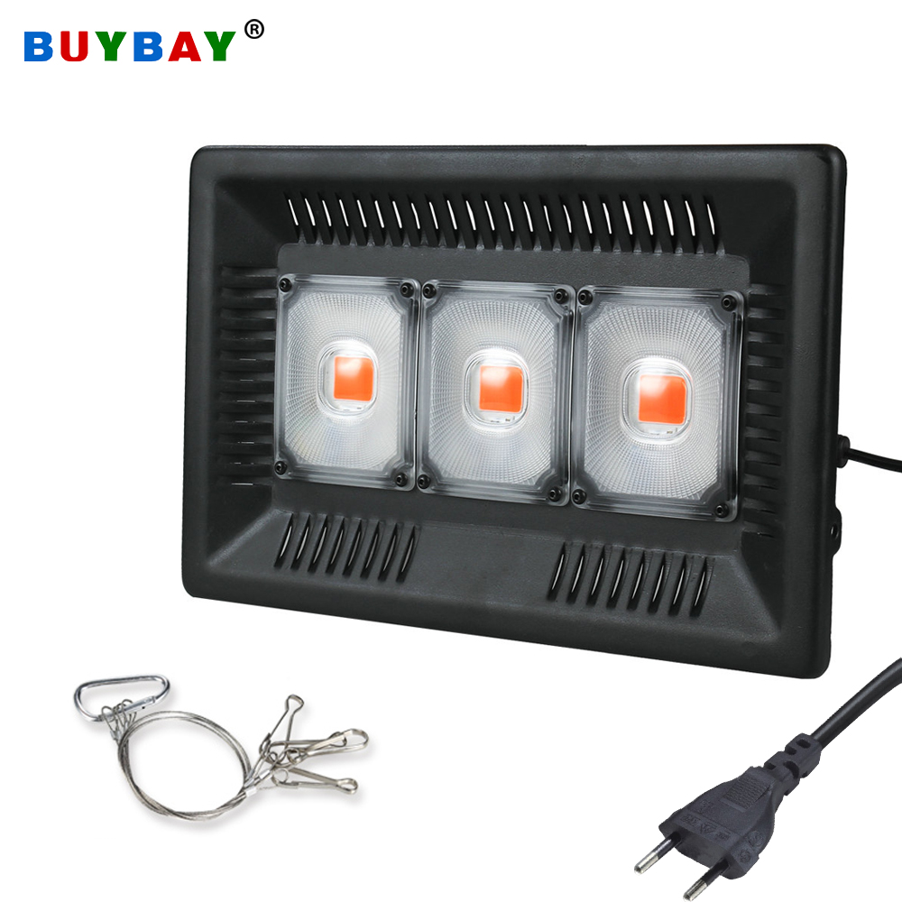 Full Spectrum LED Grow Light 100W 200W 300W COB Phyto Lamp Waterproof Growth Light For Plant Indoor Hydroponic Greenhouse EU/US