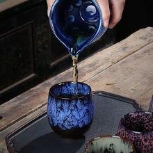 Чашка jianzhan master cup для глазури Большая Керамическая одинарная
