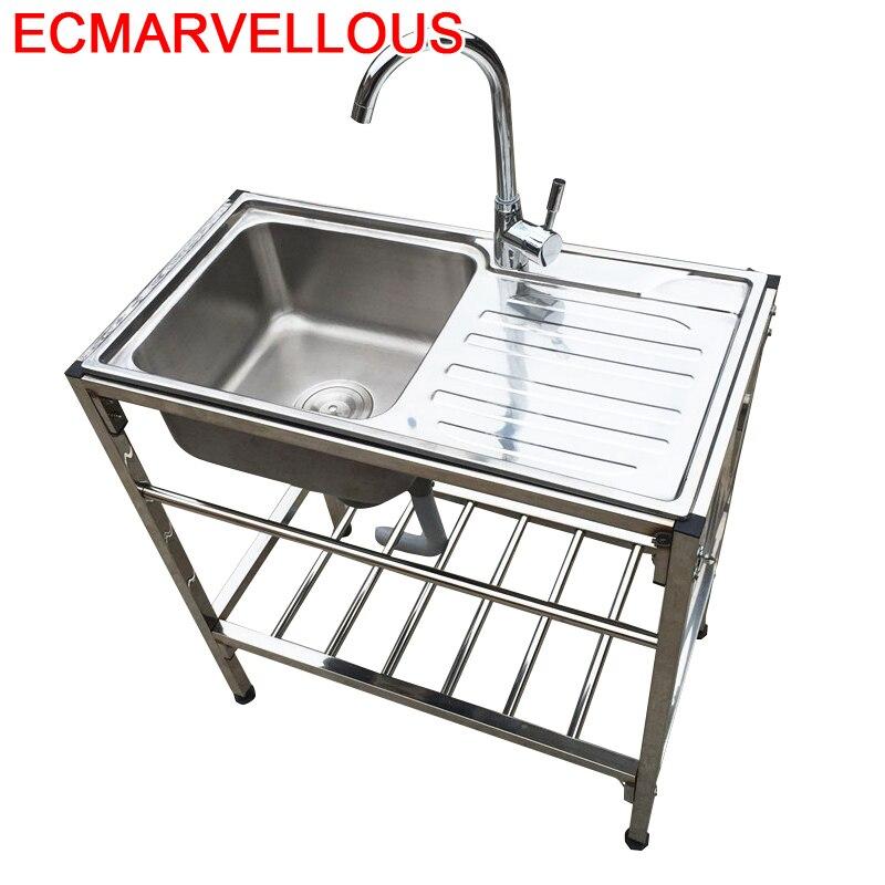 Faucet Wasbak Lavello Integral Banheiro Keuken Gootsteen Lavandino Cucina Cuba Pia Cozinha De Cocina Fregadero Kitchen Sink
